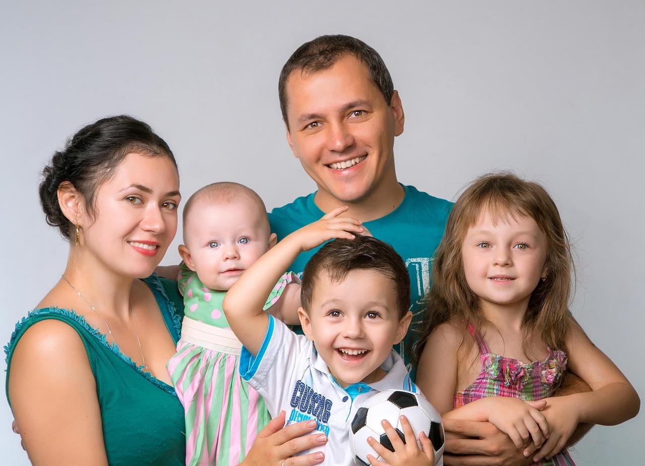 Фотки семьи с детьми